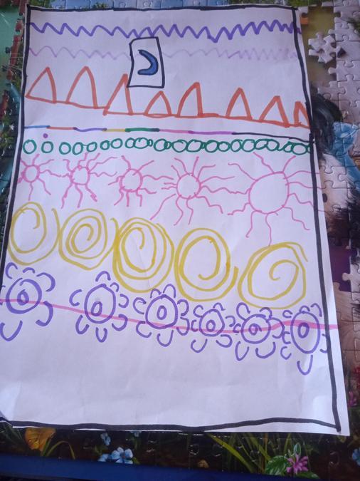 Gracie's Kente Art work