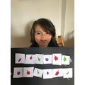 Rhion's repeating fruit pattern