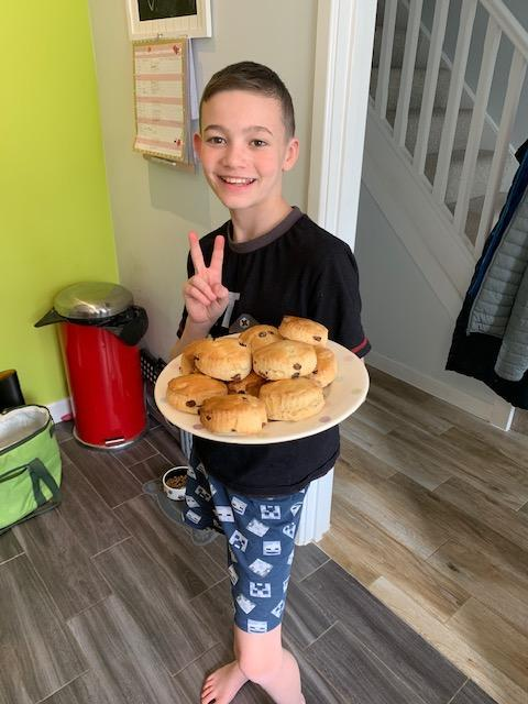 Kai's Scones - they look delicious.