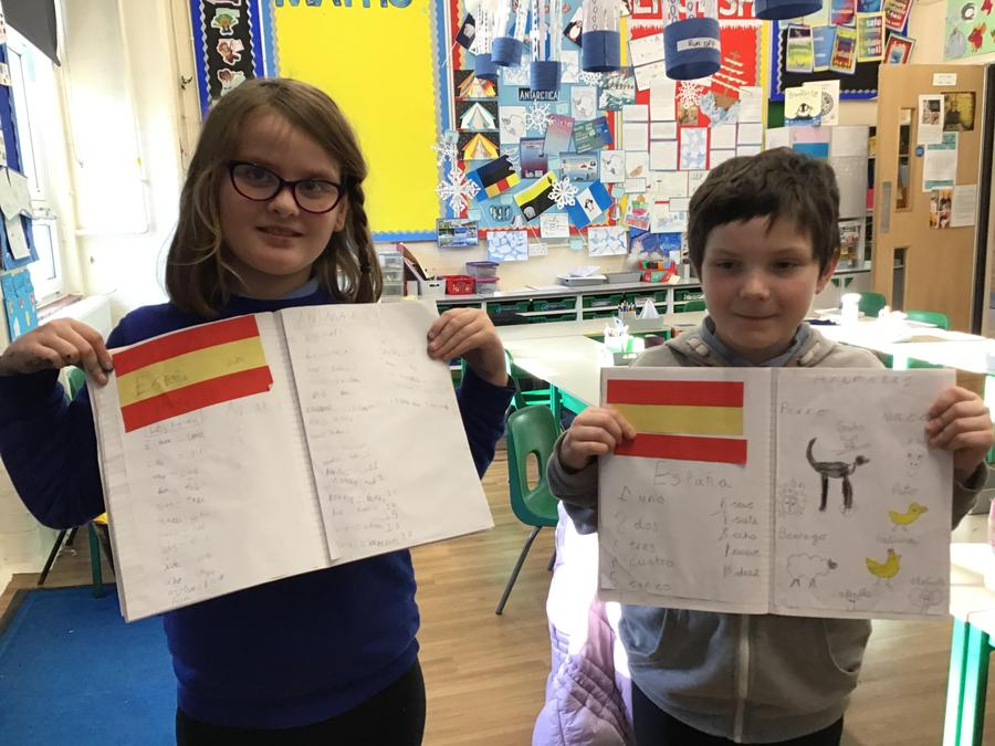 We have learned some Spanish!