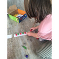 Olive's repeating pattern