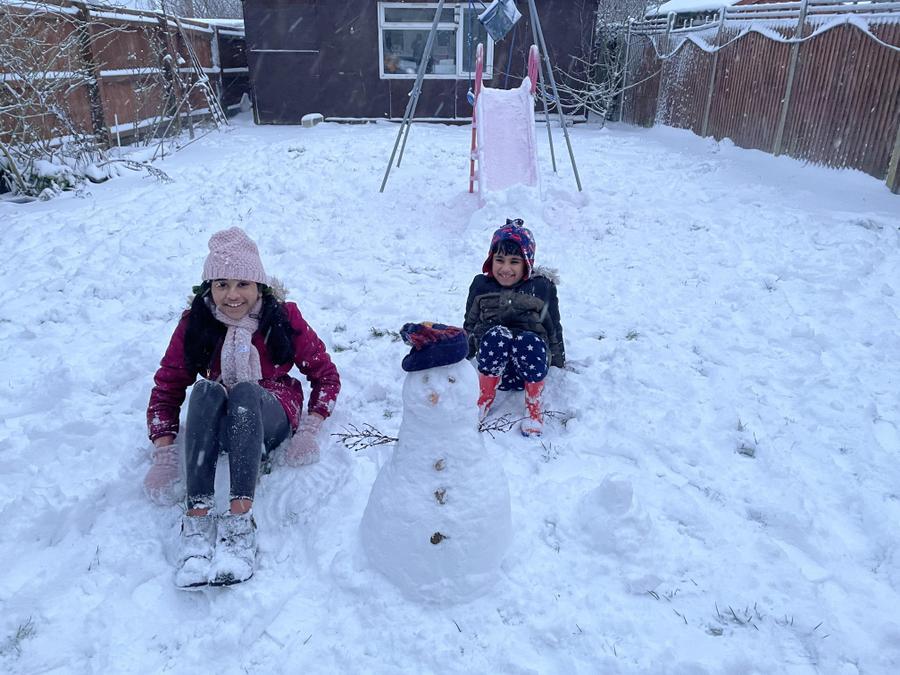 What a snowman!