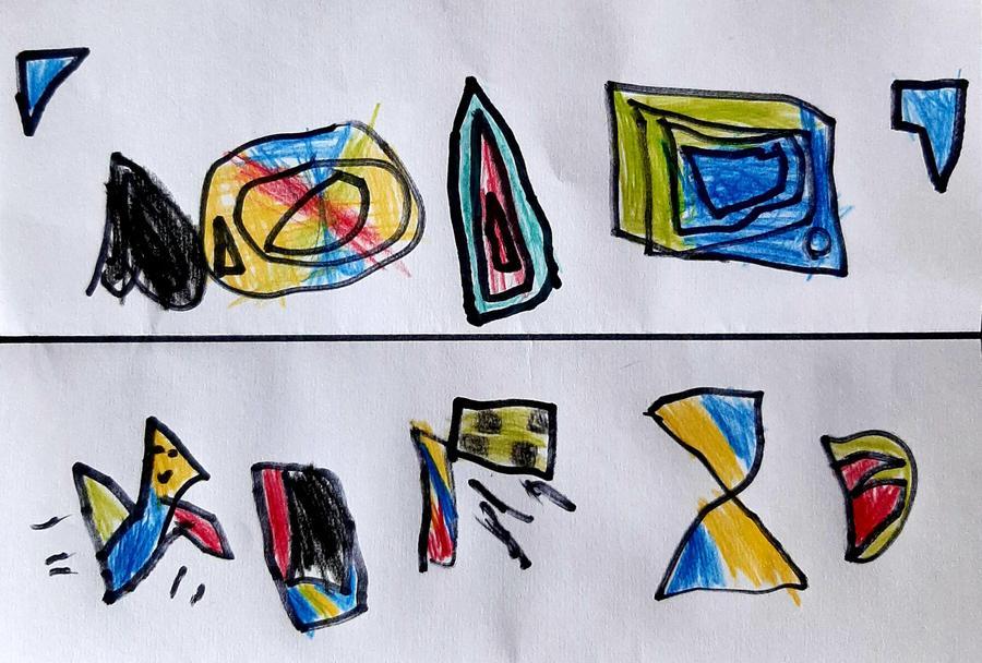 Benjamin's Kente Art work