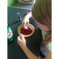Chloe Experimenting