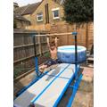 Theo's Crazy Gymnastic Skills!