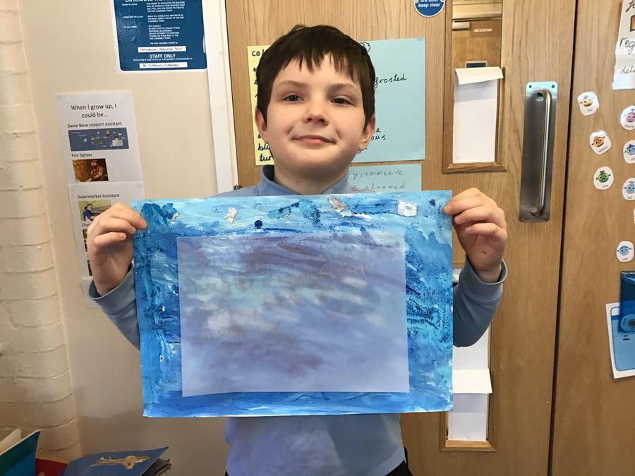 Samuels Antarctic Artwork