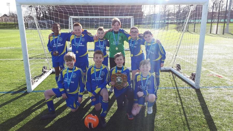 Shepway Sports Trust Football Competition winners 2020