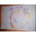 Look at the beautiful colours in Marshall's art work