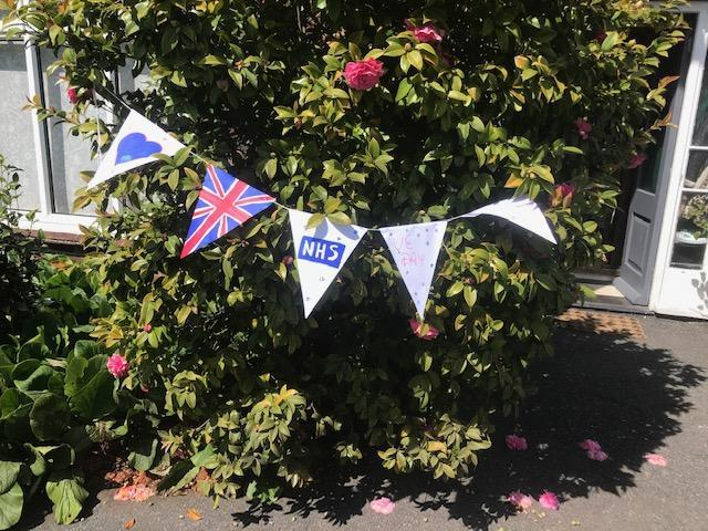 Amelia's bunting for VE day :)