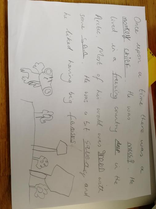 Beatrice's Spelling Sentences