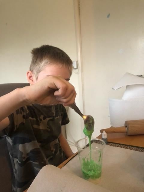 Science Experimenting at home!