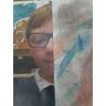 Joshua's Chalk Pastel Art