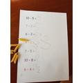 Jasper's number work