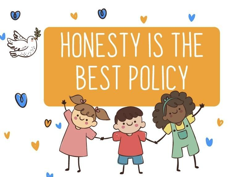 Our reflection theme this week is Honesty