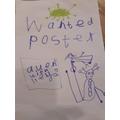 Inga's wanted poster