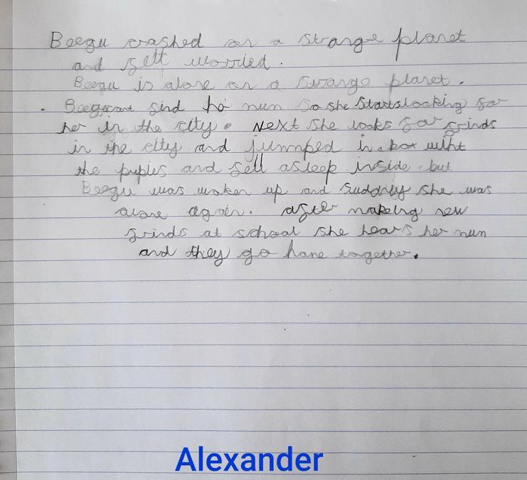 Alexander's story - 5 GREEN SLIPS!