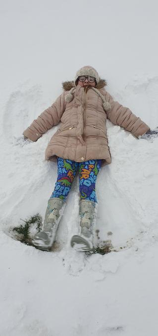 snow angel time