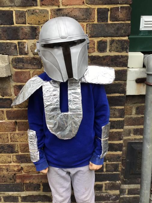 Kye is the Mandolorian from Star Wars Stories