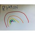 Rhion's beautiful rainbow