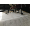 Mathew using chess pieces to help!