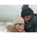 Mrs Phelps and Sophie having fun in the snow!