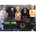 Our next album cover...Tunnel of Year 6s!