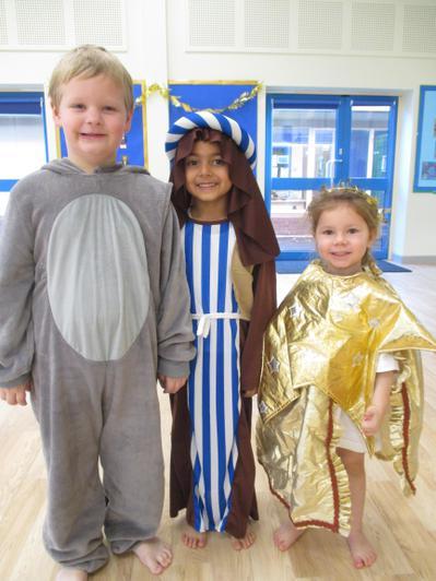 Donkey, Joseph and Star