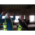 Mrs Johnstone and Mrs Richardson had fun!