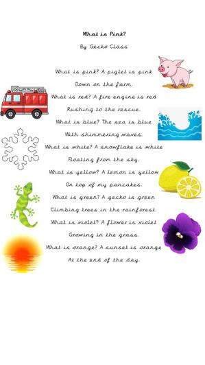 We have written a poem as a class.