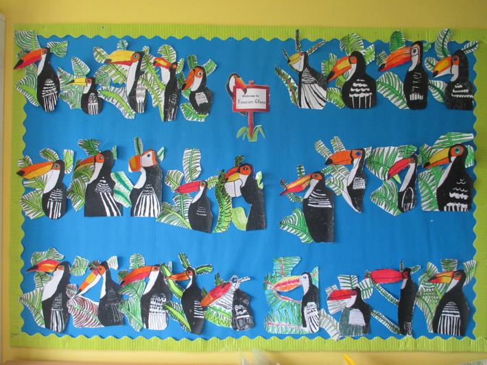 Toucan Class: Mrs Middleton-Rees