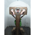 A Missin in the pillory!