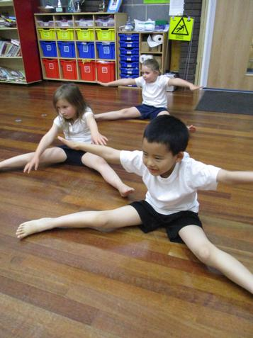 Dance, exploring different movements and sequences