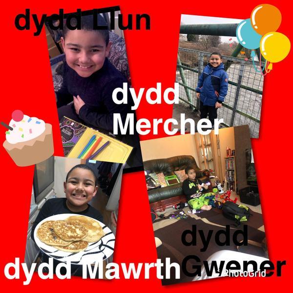 Da iawn Aaron am gymryd rhan yn Her Cymraeg Hanner Tymor! Well done Aaron for taking part!