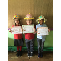 Miss Price's Winners