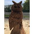 Our wonderful owl!