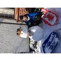 Ewan's snowman