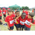 Year 3 boys relay team