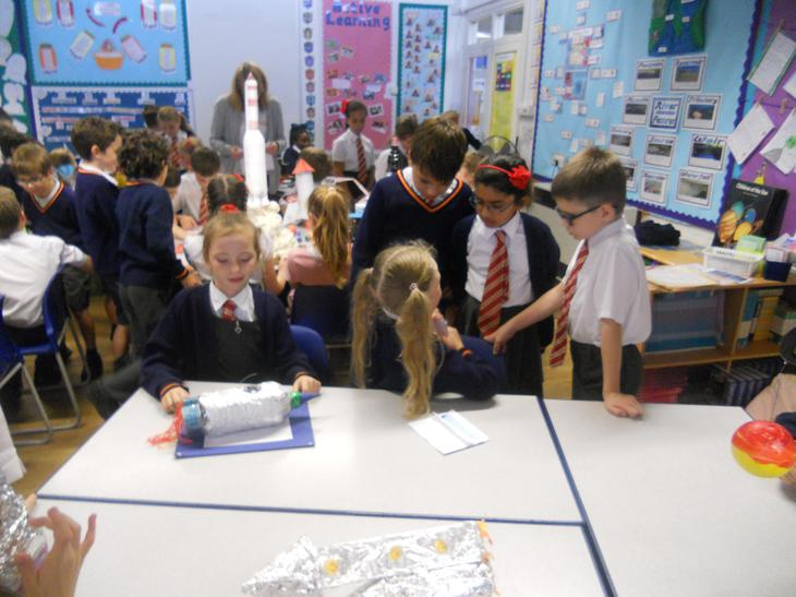 The other classes loved our homework!