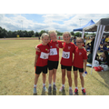 Year 4 girls relay team