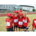 Year 3 girls relay team