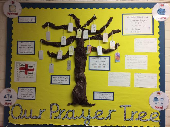 Prayer Tree Display