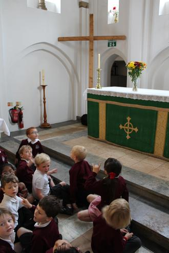 Year 1 visit to St George's Church