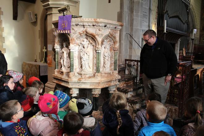 EYFS visit to Hughenden Church