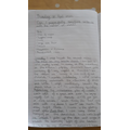 Maria's writing