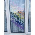 Lattonia and her mum's beautiful window display