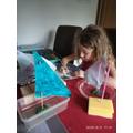 Alicia's science experiment!