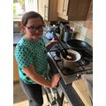 Isla's baking