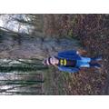 James on a tree hunt!