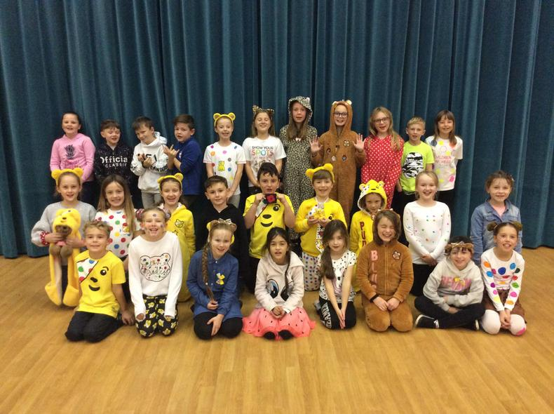 We managed to raise a grand total of £363.38.