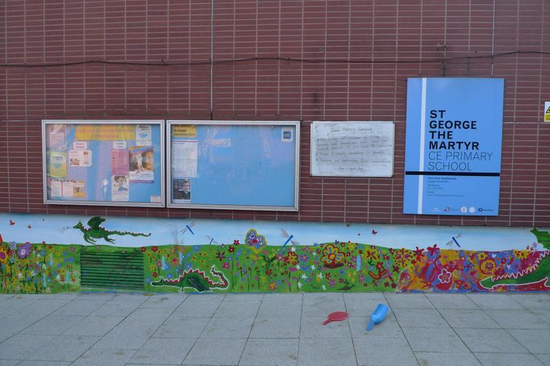 KS1 Playground / Entrance via Millman St